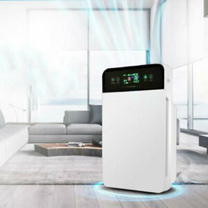 Air Germs Purifier for Home Room w/ True HEPA Particle Carbon Filter Cleaner US