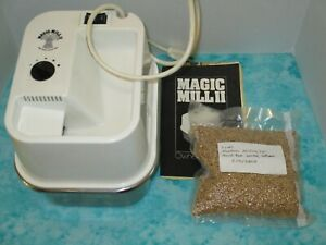 Magic Mill2 flour mill grinder Grind Your Own Fresh Flour For Baking + Bonus