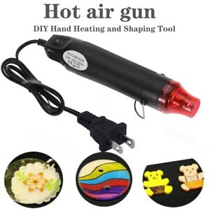 Mini Heat Gun DIY Electric Nozzles Hot Air Hand Hold Embossing Drying Tool 300W