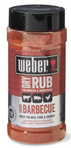 Weber Savory BBQ dry Rub Seasoning 13.5 OZ Great on the Grill Griddle  Smoker