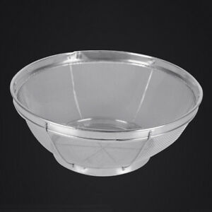Kitchen Rice Sieve Washing Bowl Food Vegetables Strainer Drain Basket Cleaning