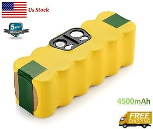4.5Ah Replacement for IRobot Roomba Battery R3 500 600 700 800 900 series