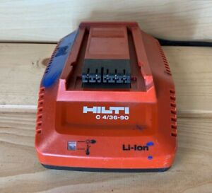 Hilti C 4 36 90 Battery Charger Cordless Li Ion Tools C4 36 90 Charger Used