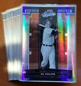 2005 Playoff Absolute Memorabilia Spectrum Gold Silver ##x27;d You Pick the Card