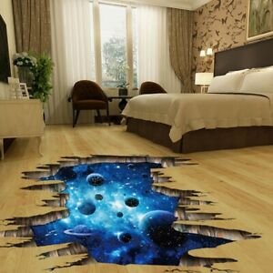 3D Removable DIY Wall Floor Door Sticker Home Room Mural Decal Vinyl Art Decor