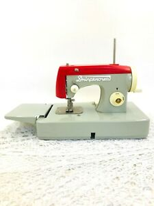 Vintage baby sewing machine Manual small sewing machine for children Decorative $42.00