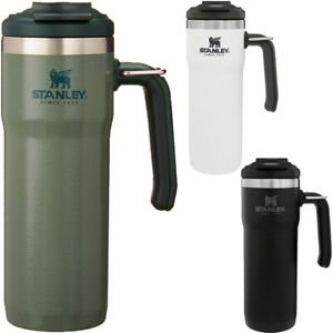 Stanley 20 oz. Classic TwinLock Insulated Stainless Steel Travel Mug with Handle
