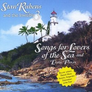 STAN RUBENS THE INVISIBLE 3 SONGS FOR LOVERS OF THE SEA EXOTIC PLACES * NE $28.97