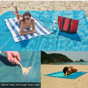 Sand Proof Beach Blanket Extra Large Beach Mat Sand Free 79