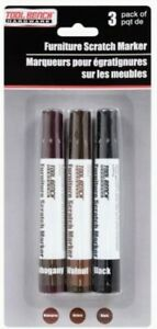 Furniture Scratch Marker (Set Of 3) - Color Blending, Waterproof, Dries Quickly
