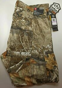 NEW Men's 38x32 Under Armour UA Storm Field Ops Hunting Pants Camo 1313212 991 $59.00