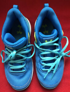**Under Armour Kid GPS 3021185 400 Athletic Shoe Little Girl's Size 3Y Blue $18.00