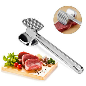 Aluminium alloy Meat Hammer Double-Side Meat Tenderizer Hammer Steak Beef Mallet