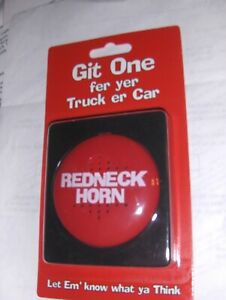 1 New Red Neck Horn REDNECK HORN  GIFT Joke , Prank , Novelty , toy