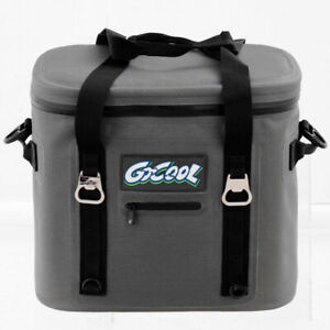 Insulated Lunch Box Lunch Bag 24-Can Soft Cooler Bag Water-Resistant Leakproof