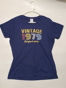 Tshirt Vintage 1979 original parts L Ladies
