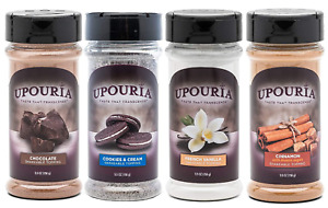 Upouria Coffee Topping Variety Pack Chocolate Cookies N Cream French Vanilla $35.99