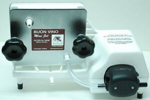 Buon Vino Mini Jet Electric Wine Filter with 2 sets of #2 filter pads