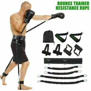Boxing Thai Gym Strength Training Equipment Sports Fitness Resistance Bands Set $19.99