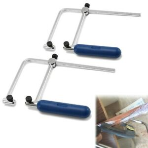 Coping Saw Kit 75mm 105mm Steel Wire Saw Cutting Tool for Wood Metal Plastic