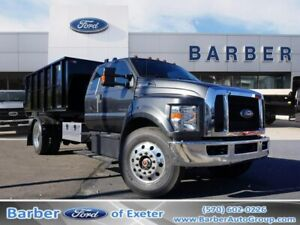 2019 Ford F-750  207 Miles Magnetic Hooklift Body 8 Ford 6-Speed TorqShift HD Au