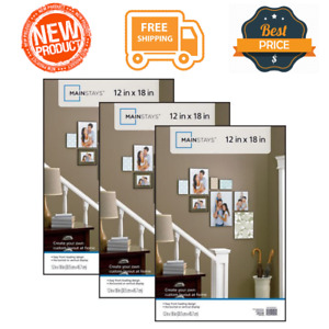 Set of 3 Format Poster Picture Photo Frame 12x18