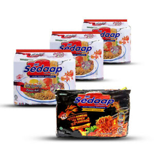[Mi Sedaap]15 Pkt Original & 5 Pkt Korean Spicy Hot Convenient Instant Noodle