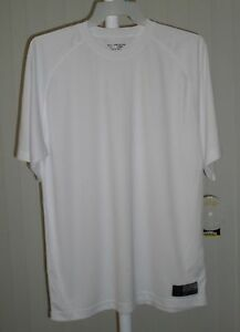 Tee Shirt Short Sleeve White Golds Gym Bi Dri Medium $5.99