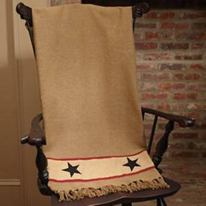 Country new Barn Star Throw Blanket