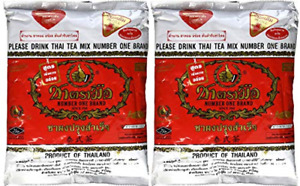 The Original Thai Iced Tea Mix TWO bags Number One Brand Imported From 2 x for