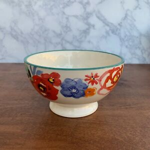 Pioneer Woman Floral  Footed Cereal / Soup Bowl