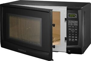 Compact Microwave 0.7 Cu. Ft. 6 Automatic Cooking Options Electronic Controls