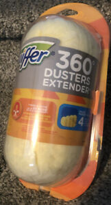 BRAND NEW Lot of 4) Swiffer 360 Dusters Extender 4 Count Duster Refill Pack