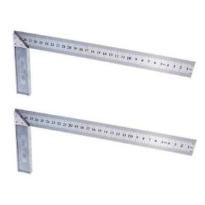 1PC Steel L Square Angle Ruler 90 Degree Ruler For Woodworking M6Q9 Tool Y3C5 C $4.92