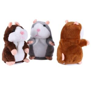 Baby Kid Learning Talking Speaking Sound Recording Hamster Mimicry Plush Toys US
