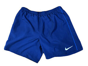 Nike Dark Blue Basketball Athletic Running Shorts Mens XL $17.98