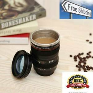 400ML Camera Lens Cup Mug Caniam EF 24-105mm F4 Filter Cup for Coffee Milk Water
