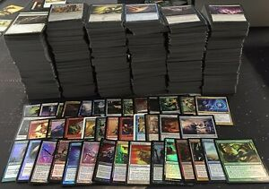 Over 1000 Magic the Gathering MTG card lot with FOILS RARES INSTANT COLLECTION