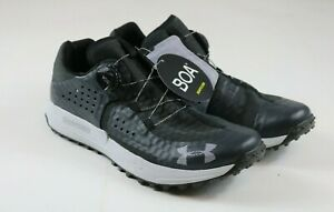 Under Armour UA Syncline BOA Womens 10 Mens Size 8.5 Trail Running Shoes Black $89.99