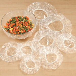 Elastic Edge Bowl Covers Set/50, Washable And Reusable, Free Shipping