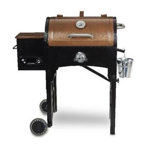 Portable Grill Tailgate Camp Pellet Grill 340 Sq. In. Folding Camping Legs Cook