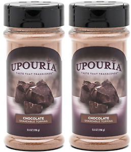 Upouria Chocolate Flavored Shakeable Topping 5.5 Ounce Pack of 2 $21.99