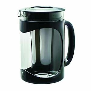 Primula Burke Deluxe Cold Brew Iced Coffee Maker, Comfort Grip Handle, Durable G