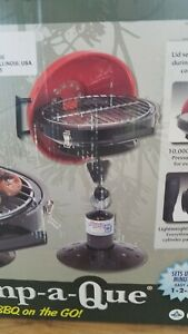 Camp a Que Portable Folding Tailgate Camping Propane Gas Grill *NEW*