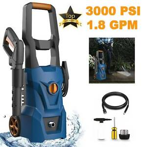 3000PSI 1.8GPM Electric Pressure Washer High Power Cold Water Cleaner Machine! $99.74
