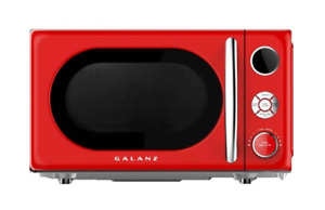 Microwaves - Galanz Retro 0.7 Cu. Ft. Microwave - Hot Rod Red