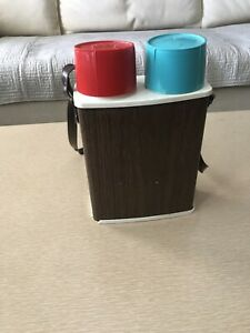 Vintage Double Sided Thermos
