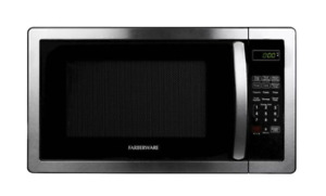 Microwaves - Farberware Classic 1.1 Cu. Ft. Mid-Size Microwave - Stainless steel
