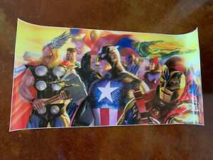 AVENGERS Litho CAPT AMERICA Iron Man Thor Black Panther Antman Vision By Ross $125.00