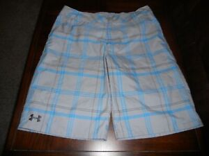 Under Armour boys golf shorts size Y XL youth extra large MINT cond loose fit $12.00